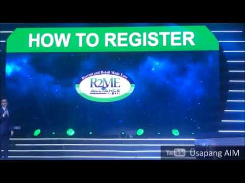 HOW TO USE AIM GLOBAL R2ME SYSTEM