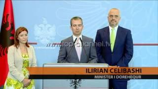 dorhiqet ministri ilirian celibashi top channel albania news lajme