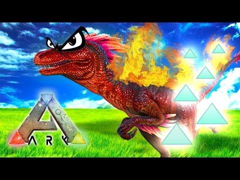 ALPHA RAPTOR INSANE XP DROP! Ark: Survival The Center