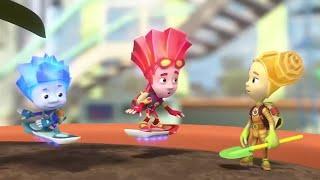 Le Fixie ★ Le Hoverboard ★ Fixie Anglais | Vidéos Pour Les Enfants | Dessins Animés Pour Les Enfants