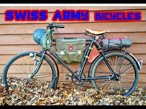 Swiss Army Bicycles - M05 And M93 Basic Overview.