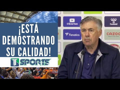 James Rodríguez MARCÓ 2 GOLES y Ancelotti RESALTÓ la IMPORTANCIA de que JUEGUE en la Premier League