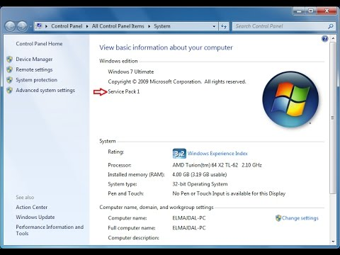 How to install service pack1 in windows7 in hindi.