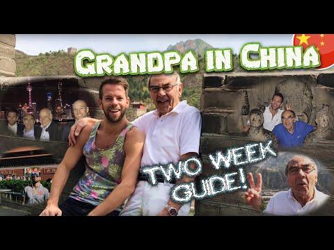 Grandpa fullfills his dream of exploring China (English subtitles)