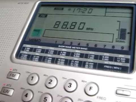 FM DX: Radio Annaba Algeria 88.8 MHz received in Germany via Sporadic-E