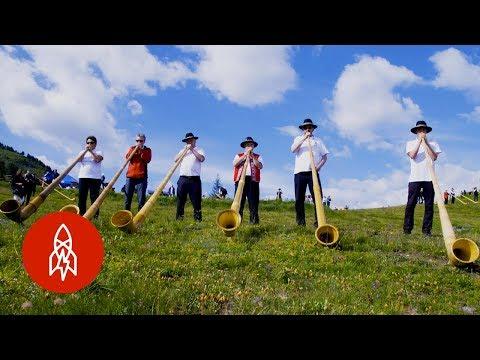 Battle of the Alpine Horns