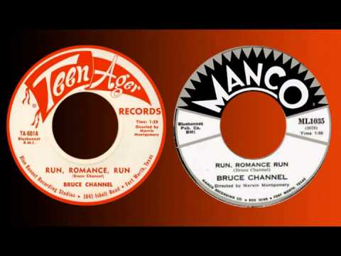 BRUCE CHANNEL  Run, Romance Run 1959 HQ !