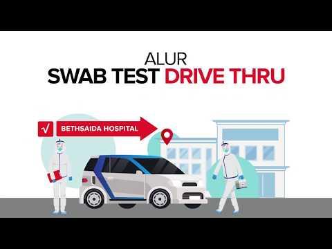 Alur Pendaftaran Swab Test Drive Thru Bethsaida Hospital