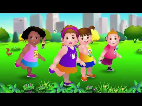 Thumbnail: Head, Shoulders, Knees and Toes [ChuChu TV - Rhymes Zone]