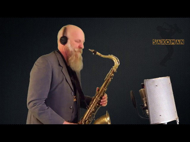 Can't stop The Feeling - Cover by Saxoman