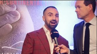 PAULIE MALIGNAGGI - 'BRITISH BOXING FANS ARE THE BEST IN THE WORLD YOU GUYS EVEN HAVE CHANTS!'