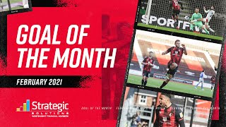 GOAL OF THE MONTH | Wilshere, Danjuma, Billing and Burgess nominated 👏