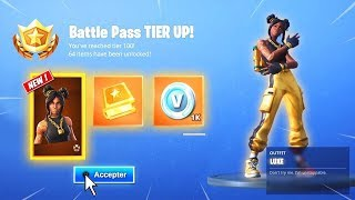 BUG PALIER BE LVL 100 FREE AND QUICK ON FORTNITE.