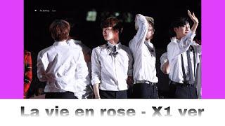 """How would X1 sing """"La vie en rose"""" (IZ*ONE)? (Version 2)"""