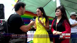 Suab Hmong E-News:  Mee Yang, Singer from PajTawgLag, China at 2014 HFC