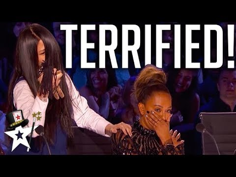 Mel B Gets Petrified After Terrifying Audition! | America's Got Talent | Got Talent Global