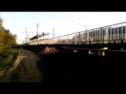 Две электрички Москва-Голутвин, Голутвин-Москва