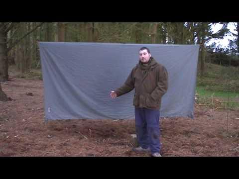 Setting Up a Tarp with a Ridge Line - Basic Configuration & Knots