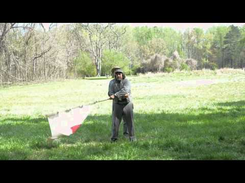 Signal Corps of the James performing US Civil War Flag Communications