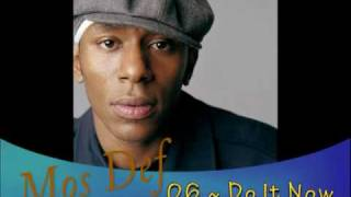 Mos Def - Speed Law / Do It Now