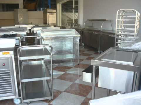 mesas cocinas de acero para lima y provincias On equipamiento para cocinas uruguay