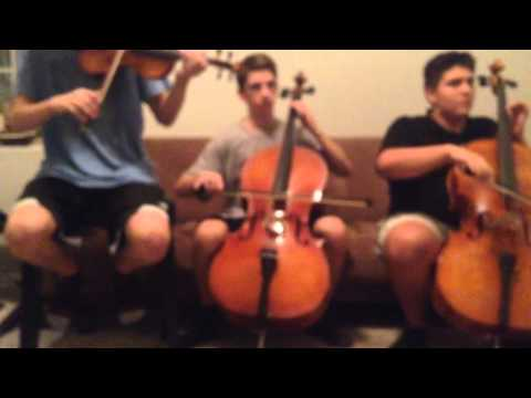 Say Something - Violin and Cello Cover with Looper