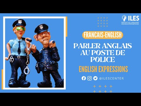English Conversation - At The Police Station