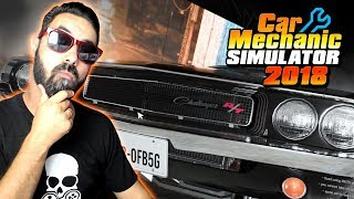 VIRÁMOS MECÂNICO | CAR MECHANIC SIMULATOR 2018 #1 Gameplay