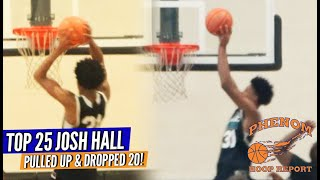 Josh Hall Catches One OFF THE BACKBOARD!! Shows up to Triangle Summer League & SHOWS OUT!