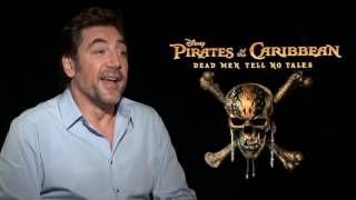 PIRATES OF THE CARIBBEAN: DEAD MEN TELL NO TALES Javier Bardem Interview