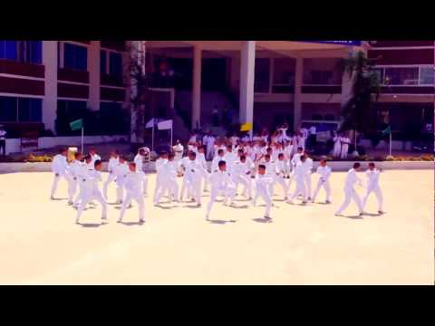 ICC World Twenty20 Bangladesh 2014 - Flash Mob International Maritime Academy (IMA)