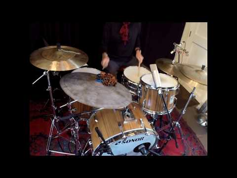 Drum grooves from Voice of Drums studio - mid tempo funk