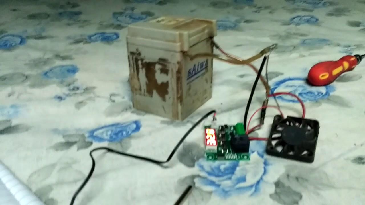 W1209 temperature control device tutorial part 2 - YouTube