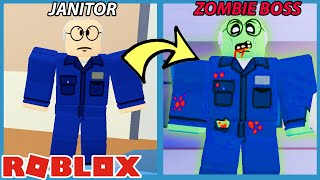 THE JANITOR WAS INFECTED!! - Roblox Field Trip Z New Ending