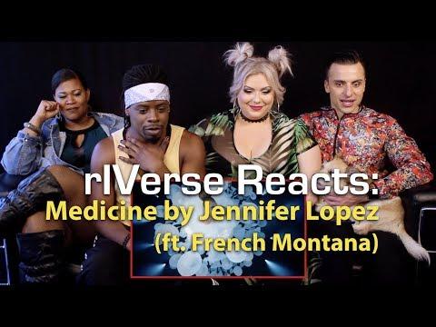 RIVerse Reacts: Medicine By Jennifer Lopez (ft. French Montana) - M/V Reaction
