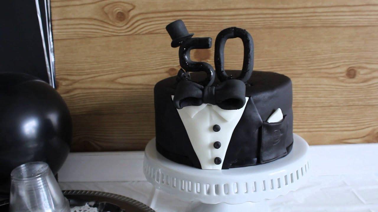 Tuxedo Cakes Images