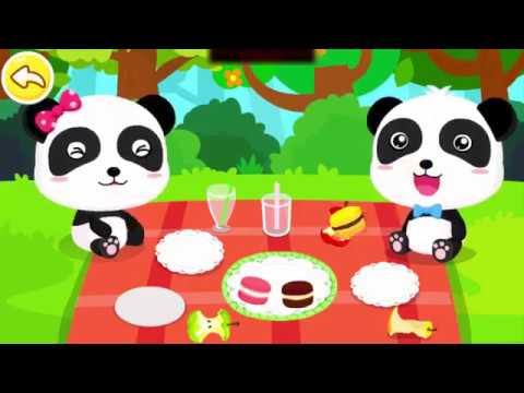 Kids learning games -  Baby Panda Learns Transport, Occupations, Natural Seasons