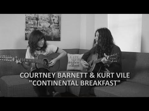 Courtney Barnett & Kurt Vile Perform 'Continental Breakfast'