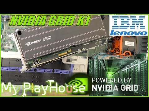 NVIDIA GRID K1 Teardown And Install In IBM X3650 M3 Server - 412