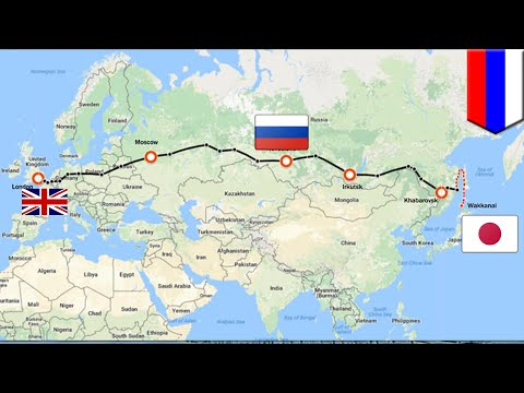 Mega projects: Russia-Japan railway bridge would let you travel from London to Tokyo - TomoNews