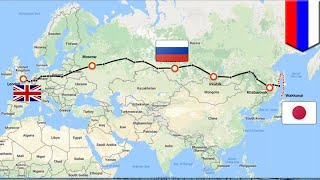 Mega projects  Russia Japan railway bridge would let you travel from London to Tokyo   TomoNews