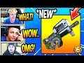 STREAMERS REACT TO *NEW* P90 COMPACT SMG! *LEGENDARY* Fortnite FUNNY & SAVAGE Moments