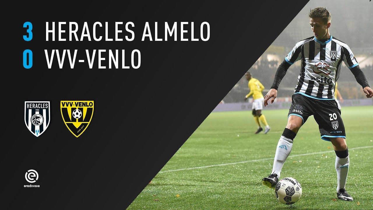 Heracles Almelo - VVV-Venlo | 28-10-2017 | Samenvatting