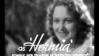 A Midsummer Night's Dream 1935 Official Trailer (Nominated Oscar / Best Picture)
