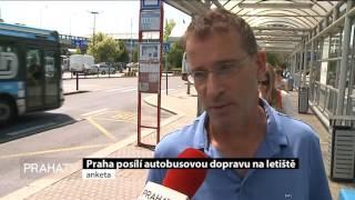 Praha posílí autobusovou dopravu na letiště