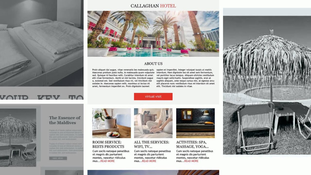 Email Marketing For Hotels & Lodging | Hospitality Email Templates ...