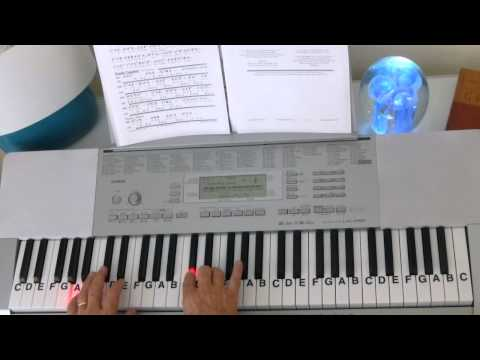 How To Play ~ The Old Rugged Cross ~ Classic Gospel Hymn ~ LetterNotePlayer ©