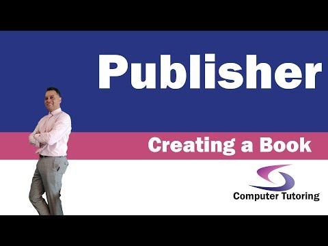 Creating A Book Cover In Publisher