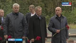 Годовщину обороны Петрозаводска отметили в Петрозаводске