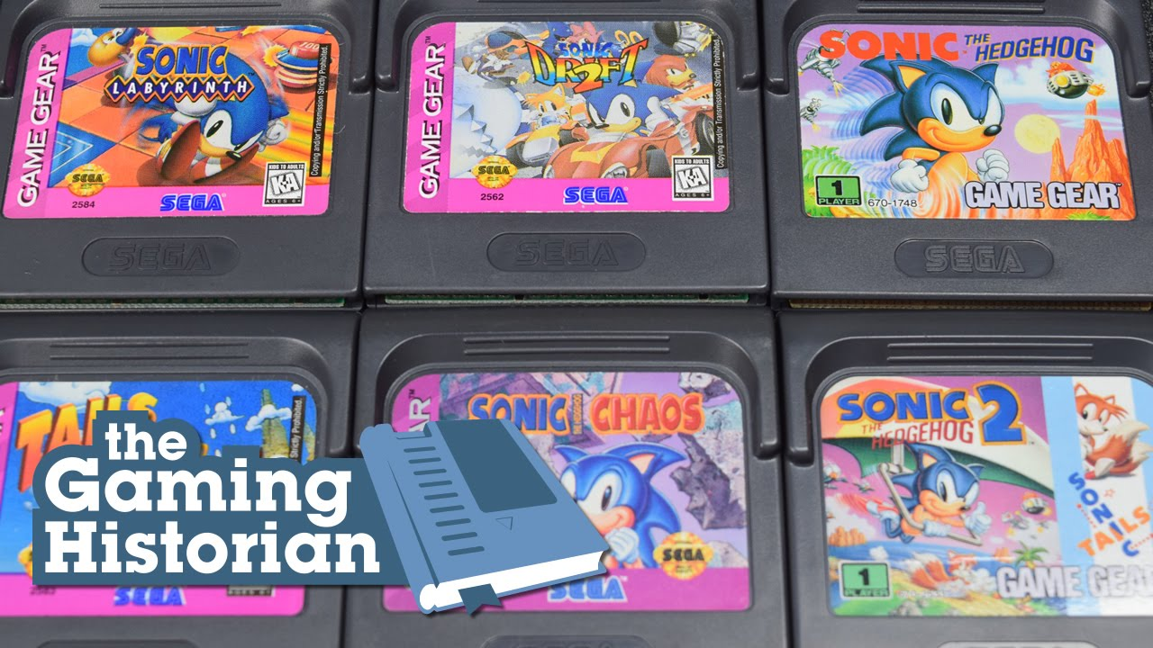 Sonic Games On Game Gear Gaming Historian Youtube
